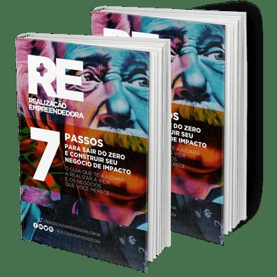 eBook 7 Passos Para Sair do Zero e Construir Seu Negócio de Impacto da Realização Empreendedora