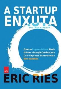 Capa do Livro A Startup Enxuta de Eric Ries, melhores livros para empreendedores