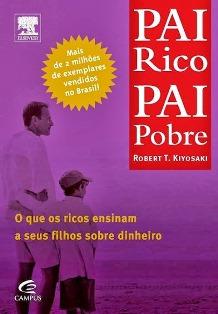 Capa do Livro Pai Rico Pai Pobre - Melhores Livros para empreendedores